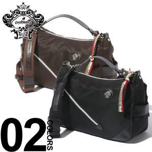 オロビアンコ Orobianco ショルダーバッグ 2WAY ナイロン レザー SILVESTRA ブランド メンズ バッグ OBSILVESTRAC|zen