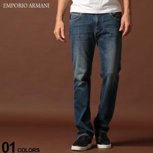エンポリオ アルマーニ EMPORIO ARMANI デニムパンツ ウォッシュ ジップフライ ジーンズ REGULAR ブランド メンズ レギュラー ストレート EA6G1J451D0NZ zen