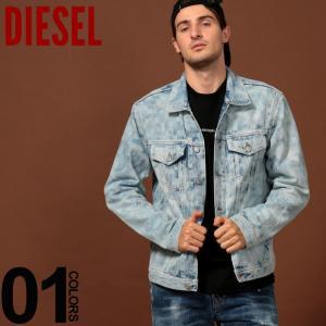 ディーゼル DIESEL ジージャン ブリーチ デニム ジャケット ブランド メンズ アウター Gジャン DSSTPS078I|zen