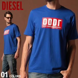 ディーゼル DIESEL Tシャツ 半袖 DDDR ロゴ プリント クルーネック ブランド メンズ トップス DSSW7V091A|zen