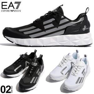 エンポリオ アルマーニ EA7 EMPORIO ARMANI スニーカー ロゴ ローカットUltimate C2 ブランド メンズ 靴 シューズ EAX8X033XCC52|zen