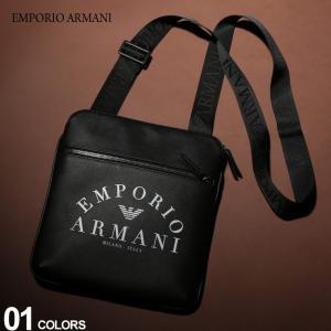 エンポリオ アルマーニ EMPORIO ARMANI ショルダーバッグ ミニ ロゴ プリント ブランド メンズ サコッシュ バッグ ショルダー EAY4M184YFE5J zen