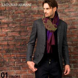 エンポリオ アルマーニ EMPORIO ARMANI ジャケット ウール混 マイクロチェック シングル 2ツ釦 2B ブランド メンズ テーラード 総裏 EA6G1B221D7WZ5|zen