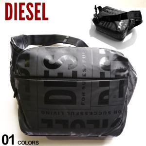 DIESEL ディーゼル ランダムロゴ ビッグ ウエストバッグ ブランド メンズ バッグ 鞄 ボディバッグ ウエストポーチ DSX07796P3893|zen