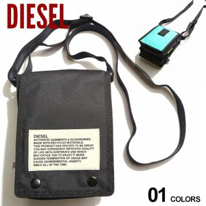 DIESEL ディーゼル 軽量 フラップ クロスボディバッグ ANKO WP ブランド メンズ バッグ 鞄 ショルダーバッグ サコッシュ DSX07814P3902|zen