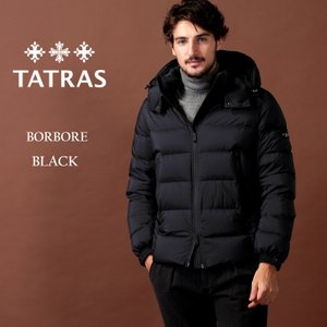 タトラス TATRAS ダウンジャケット ナイロン パーカー フード ブルゾン BORBORE ボルボア ブランド メンズ アウター TRMTA20A4568|zen