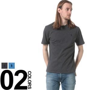 POLO RALPH LAUREN ポロ ラルフ ローレン 綿100% ワンポイント クルーネック 半袖 Tシャツ|zen