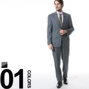 ローレンラルフローレン LAUREN RALPH LAUREN ULTRAFLEX ウール ストライプ シングル 2ツ釦 ノータック スーツ RL1SX0227 メンズ ブランド ビジネス|zen
