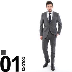 トミーヒルフィガー TOMMY HILFIGER スーツ ウインドウペン ストレッチ 2B ブランド メンズ ビジネス TMVAASB0041|zen