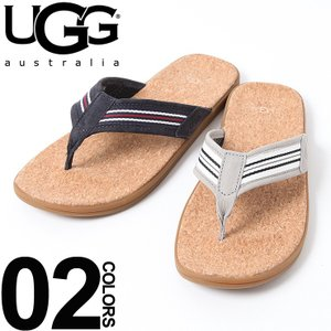 アグ オーストラリア UGG Australia サンダル レザー トング コルク底 ビーチサンダル メンズ UGG1092171 ブランド sandal|zen