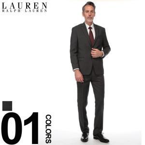 ローレン ラルフ ローレン LAUREN RALPH LAUREN スーツ ULTRA FLEX シングル 2ツ釦 2B ブランド メンズ ビジネス ウール ノータック RL1RZ2470 zen