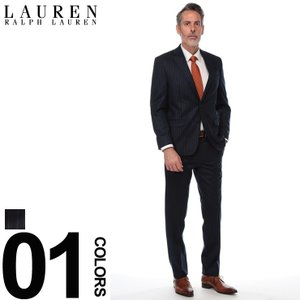 ローレン ラルフ ローレン LAUREN RALPH LAUREN スーツ ULTRA FLEX ストライプ シングル 2ツ釦 2B ブランド メンズ ビジネス ウール ノータック RL1SX0289 zen