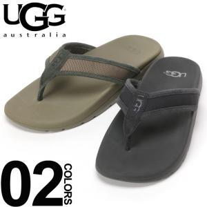 アグ オーストラリア UGG Australia サンダル トング ストラップ 裏メッシュ TENOCH BALLISTIC SANDAL ブランド メンズ ビーチサンダル UGG1099746|zen