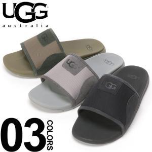 アグ オーストラリア UGG Australia サンダル メッシュ ロゴ スライドサンダル XAVIER BALLISTIC SLIDE ブランド メンズ シャワーサンダル UGG1099747|zen