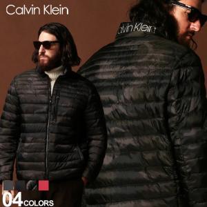 カルバン クライン Calvin Klein CK 中綿ジャケット ライトジャケット パッカブル ロゴ ブルゾン SORONA ブランド メンズ CKCM953900|zen