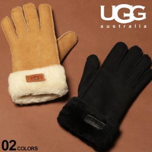 アグ メンズ 手袋 UGG Australia グローブ シープスキン ボア TURN CUFF ブランド レザー 革手袋 UGG17369 zen