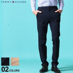トミーヒルフィガー メンズ スラックス TOMMY HILFIGER トラウザー パンツ スーパー ストレッチ ノータック ブランド ボトムス TMTATEH1A|zen