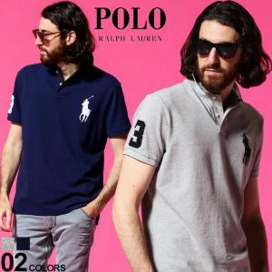 ポロ ラルフローレン メンズ POLO RALPH LAUREN ビッグポニー ロゴ 刺繍 鹿の子 半袖 ポロシャツ ブランド トップス RL710688969|zen