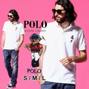 ポロ ラルフローレン メンズ POLO RALPH LAUREN ポロベア 刺繍 鹿の子 半袖 ポロシャツ ブランド トップス RL710835783002|zen