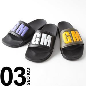 MSGM エムエスジーエム アッパー ビッグ カラーロゴ シャワーサンダル MS2440MS100 sandal|zen