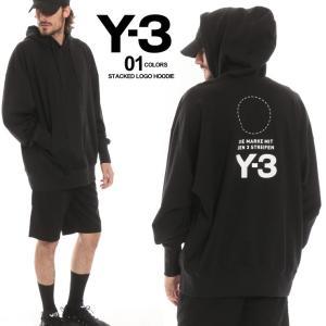 Y-3 ワイスリー パーカー スウェット バックプリント ロゴ プルオーバー メンズ ブランド トップス プルパーカー Y3DP0459 zen