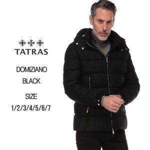 タトラス TATRAS ダウンジャケット ウール シルク パーカー フード ブルゾン DOMIZIANO ドミッツィアーノ ブランド メンズ TRMTA19A4289|zen