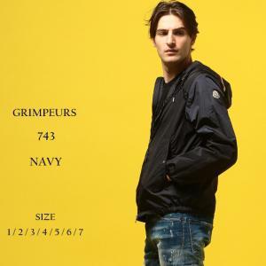 モンクレール MONCLER ナイロンジャケット トリコロール フルジップ ナイロンパーカー ブルゾン ブランド メンズ アウター フード グランペール MCGRIMPEURS9|zen