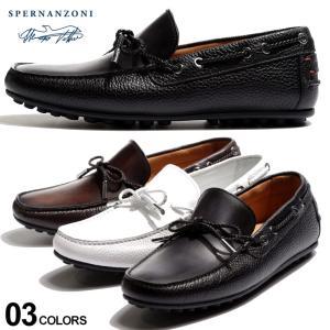 ヴィットリオ スペルナンツォーニ メンズ ドライビングシューズ VITTORIO SPERNANZONI レザー スリッポン シューズ ブランド モカシン 靴 革靴 SPNIKO|zen