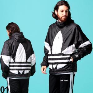 アディダス オリジナルス メンズ ナイロンジャケット adidas originals トレフォイル ロゴ ナイロンパーカー ブランド メンズ アウター ADFM3757|zen