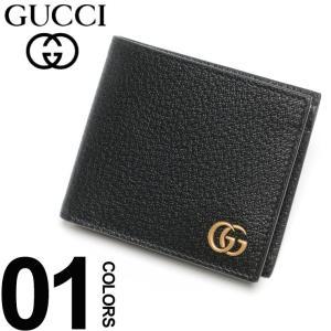 グッチ GUCCI 財布 二つ折り レザー GGワンポイント ブランド メンズ ハーフ ウォレット サイフ GC428725DJ20T|zen