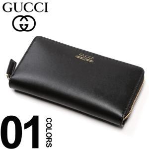 グッチ GUCCI 長財布 レザー ラウンドジップ ヴィンテージ ロゴ プリント ブランド メンズ ウォレット 財布 サイフ GC5475910YA0G|zen
