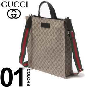 グッチ GUCCI トートバッグ 2WAY GGスプリーム ショルダー ウェビング ブランド メンズ バッグ 鞄 レザー GC456217K5IAN|zen