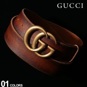 グッチ GUCCI ベルト レザー ダブルGバックル ロゴ ブランド メンズ レザーベルト 本革 GC406831CVE0T|zen