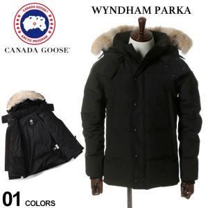 カナダグース CANADA GOOSE ダウンジャケット ファー フード ブルゾン WYNDHAM PARKA ウィンダムパーカ ブランド メンズ アウター ダウン CG3808M|zen