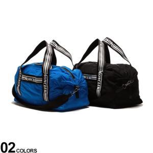 モンクレール MONCLER 2WAY ナイロン ロゴストラップ ボストンバッグ NIVELLE メンズ 鞄 バッグ ショルダーバッグ ショルダー MC7A7000002SC9|zen