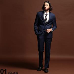 ローレン ラルフ ローレン メンズ スーツ LAUREN RALPH LAUREN ウィンドウペン シングル 2ツ釦 2B ULTRA FLEX ブランド ノータック RLLETO21EZ0220|zen