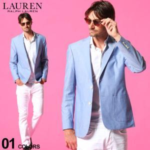 ローレン ラルフローレン メンズ ジャケット LAUREN RALPH LAUREN シャンブレー シングル 2ツ釦 ULTRAFLEX ブランド  テーラード RLLIDT12SU0001 zen