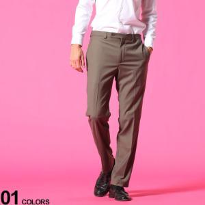 カルバンクライン メンズ スラックス CK Calvin Klein ウォッシャブル ストレッチ ノータック ブランド  ボトムス ロングパンツ ビジネス CKJINNYJ70021|zen