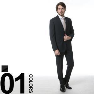 アルマーニコレッツォーニ ARMANI COLLEZIONI スーツ ウール ピンヘッド シングル 2ツ釦 ノータック GAVCVGEBVC210 zen