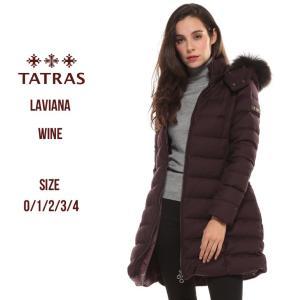 タトラス ダウンコート TATRAS ダウンジャケット ウール ラクーンファー LAVIANA ラビアナ レディース ブランド アウター フード パーカー TRLTA19A4571|zen