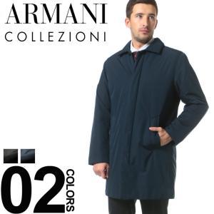 アルマーニコレツィオーニ ARMANI COLLEZIONI 中綿 ステンカラー ハーフコート ブランド メンズ ビジネス コート 中綿コート GAZCL19WZCW04 zen