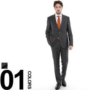 ヒューゴボス HUGO BOSS スーツ 2B ミニチェック ウール シングル S120 ブランド メンズ 紳士 ビジネス スーツ HBJS10202926|zen