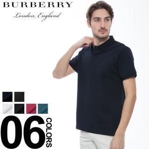 バーバリー ロンドン BURBERRY LONDON ポロシャツ 半袖 鹿の子 ブランド メンズ トップス BBPOLO8S