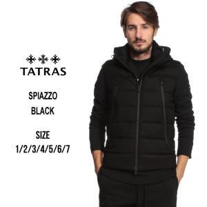 タトラス TATRAS ダウンジャケット フルジップ ダウンブルゾン SPIAZZO スピアッツォ ブランド メンズ アウター ウール パーカー フード TRMTK19A4134|zen