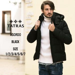 タトラス TATRAS ダウンジャケット ウール パーカー フード ブルゾン AGORDO アーゴルド ブランド メンズ アウター ウールダウン TRMTK19A4148|zen