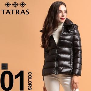 タトラス TATRAS ダウンジャケット レディース ナイロン パーカー フード ブルゾン DRENA ドレーナ ブランド レディース アウター ショート TRLTA19A4690 zen