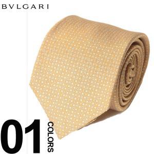 ブルガリ BVLGARI ネクタイ アルファベット ブランド メンズ ビジネス タイ シルク BLG243212F8 zen