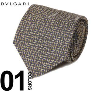 ブルガリ BVLGARI ネクタイ SNAKEGAMMON ブランド メンズ ビジネス タイ シルク BLG243221F8 zen