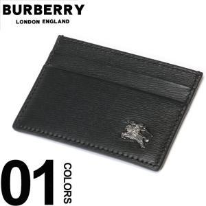 バーバリー BURBERRY パスケース ロンドンレザー ロゴ カードケース ブランド メンズ ビジネス 名刺入れ 本革 BB8006019|zen