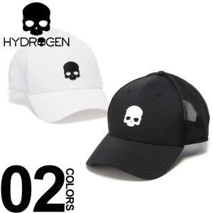 ハイドロゲン HYDROGEN キャップ スカル ロゴ メッシュ アジャスター ブランド メンズ レディース 帽子 ドクロ HYFR0092|zen